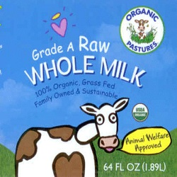 Health Habit Raw Whole Milk